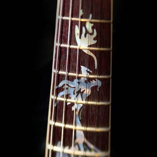 custom electric guitar neck and fretboard